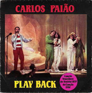 Disco de vinil - Carlos Paião- Play Back