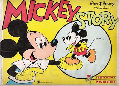 Caderneta de cromos completa Mickey Story