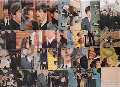 Cromos dos Beatles
