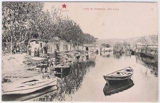 Postal de Leça da Palmeira - Rio Leça