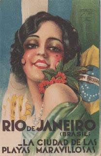 Colecção de postais Rio de Janeiro - Brasil