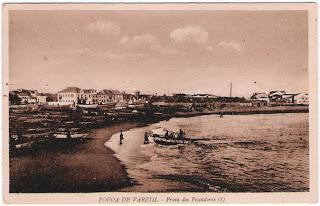 Postal da Póvoa do Varzim - Praia dos Pescadores