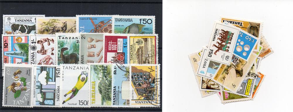 40 selos diferentes da Tanzânia