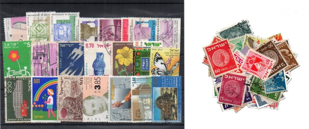 70 selos diferentes de Israel
