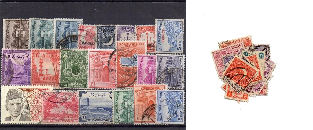 45 selos diferentes do Paquistão