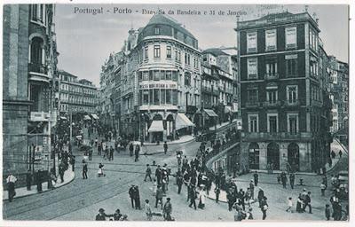 Postal do Porto - Rua Sá da Bandeira e 31 de Janeiro