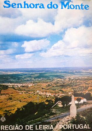 Cartaz Senhora do Monte. Região de Leiria/Portugal