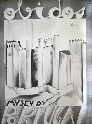 Cartaz Óbidos. Museu de Portugal