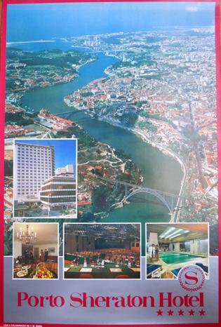 Cartaz Porto Sheraton Hotel