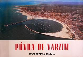 Cartaz Póvoa de Varzim. Portugal