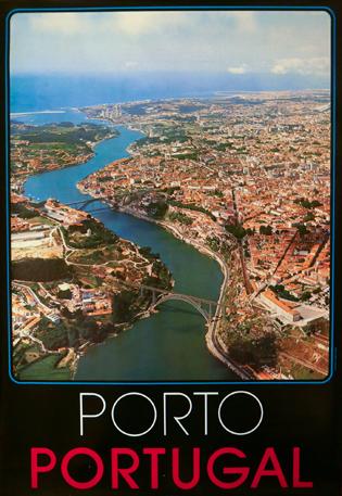 Cartaz Porto. Portugal