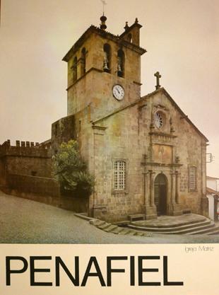 Cartaz Penafiel. Igreja Matriz