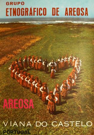 Cartaz Grupo Etnográfico de Areosa. Viana do Castelo. Portugal