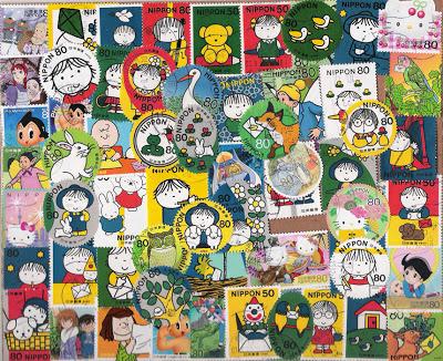 Selos do Japão
