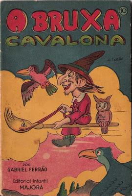 Livro da Majora: A Bruxa Cavalona