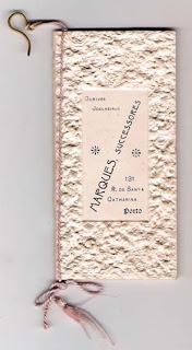 Calendário Ourives / Joalheiros 1906