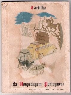Cartilha da Hospedagem Portuguesa - Desenho Emmérico Nunes e dizeres de Augusto Pinto