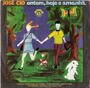 Disco Vinil José Cid - Ontem, hoje e amanhã
