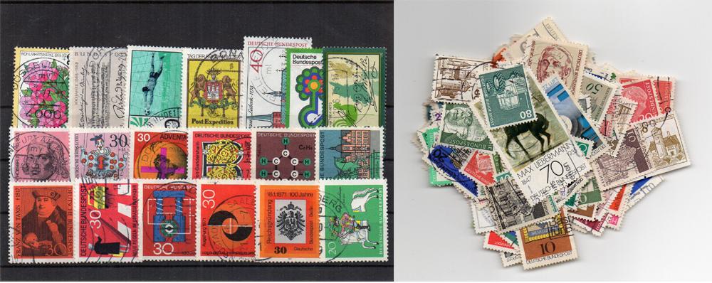 180 selos diferentes da Alemanha