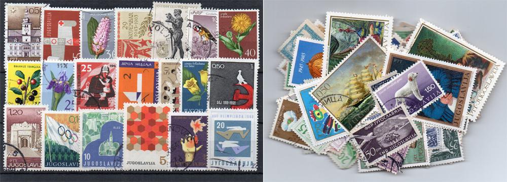 240 selos diferentes da Jugoslávia
