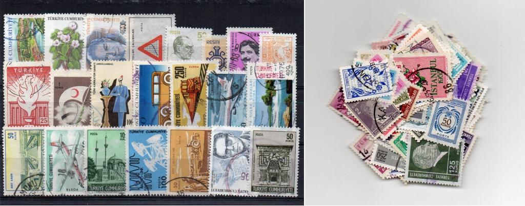 125 selos diferentes da Turquia