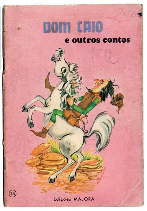 Livro antigo Majora - Dom Caio e outros contos