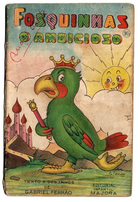 Livro antigo Majora - Fosquinhas o ambicioso