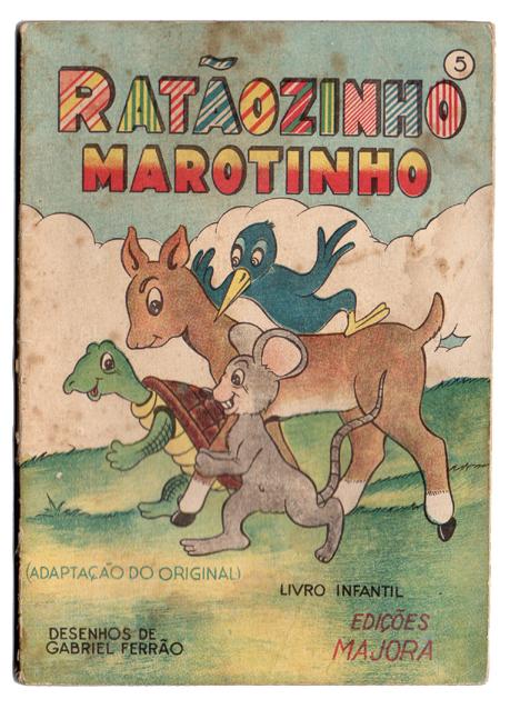 Livro antigo Majora - Ratãozinho marotinho