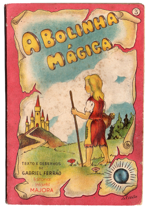 Livro antigo Majora - A bolinha mágica