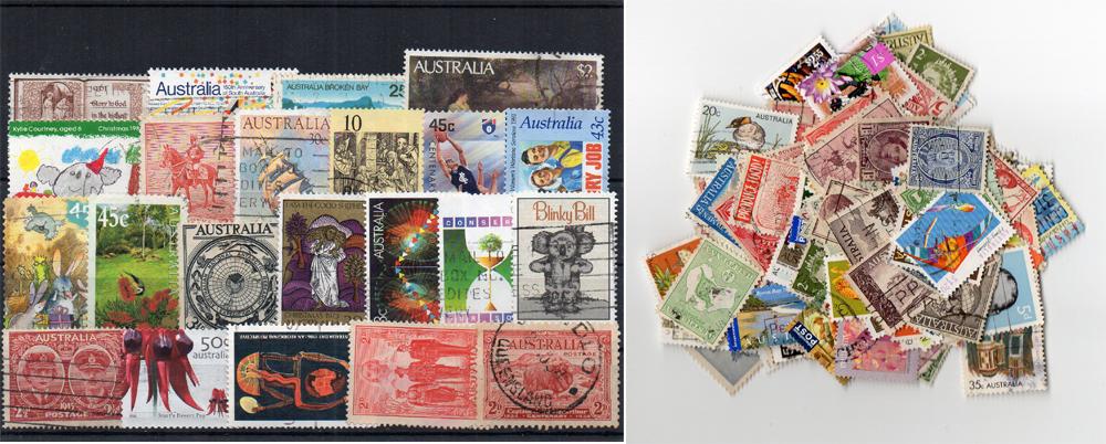 175 selos diferentes da Austrália