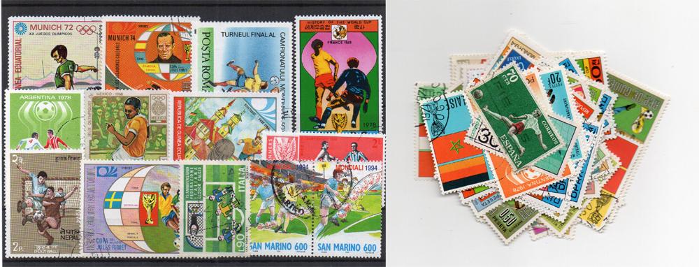 50 selos diferentes de futebol