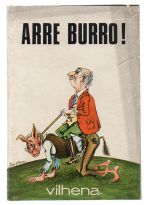 Arre Burro livro de José Vilhena