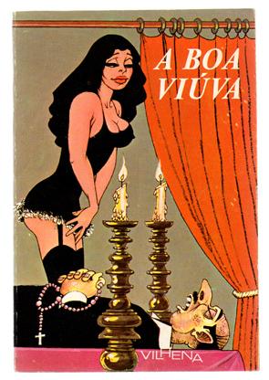 A Boa Viúva, livro de José Vilhena