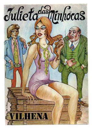 Julieta das Minhocas livro de José Vilhena