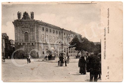Postal antigo do Porto – Cadeia da Relação. Edição Arnaldo Soares