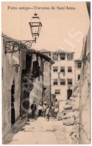 Postal Porto antigo – Travessa de Sant'Anna