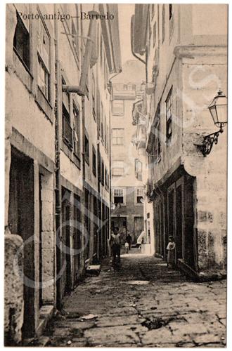 Postal Porto antigo - Barredo