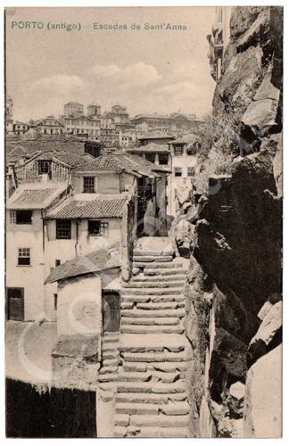 Postal Porto (antigo) – Escadas de Sant'Anna