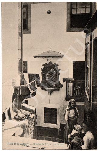 Postal Porto (antigo) – Oratório de N.ª S.ª da Fortuna