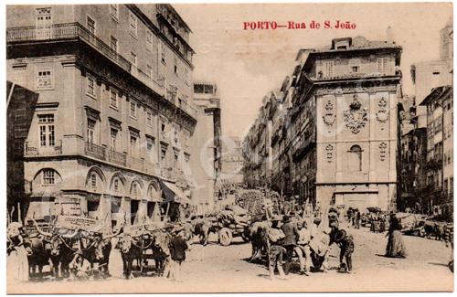 Postal antigo Porto – Rua de S.João