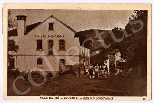 Postal antigo do Vale da Mó - (Anadia) - Pensão Montanha