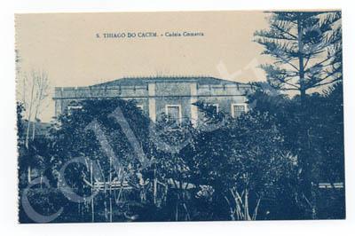 Postal antigo de Santiago do Cacém