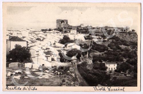 Postal antigo Castelo de Vide. Vista Parcial
