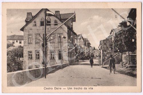 Postal antigo Castro Daire - Termas do Carvalhal - Capela de Nossa Senhora de Lourdes