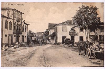 Postal antigo de Cesar - Gandara