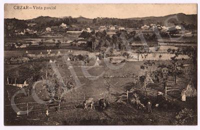 Postal antigo de Cesar - Vista parcial