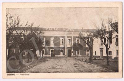 Postal antigo de Estremoz - Palace Hotel