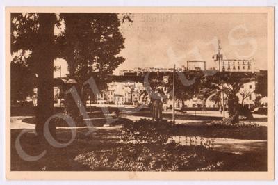 Postal antigo de Estremoz - Jardim Municipal
