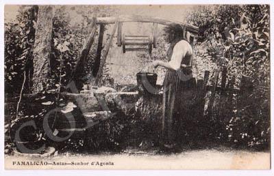 Postal de Famalicão - Antas - Senhor d'Agonia