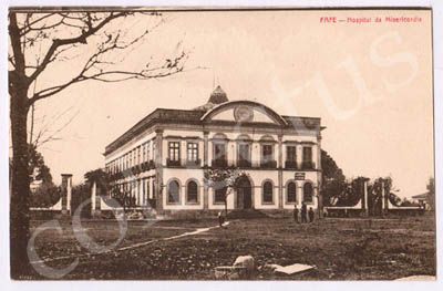 Postal antigo de Fafe - Hospital da Misericórdia